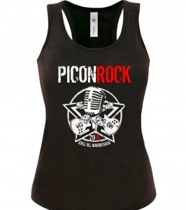 camiseta de chica piconrock 2015